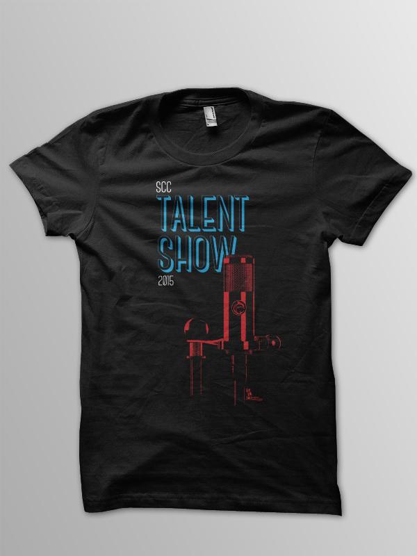 talent shirt mockup
